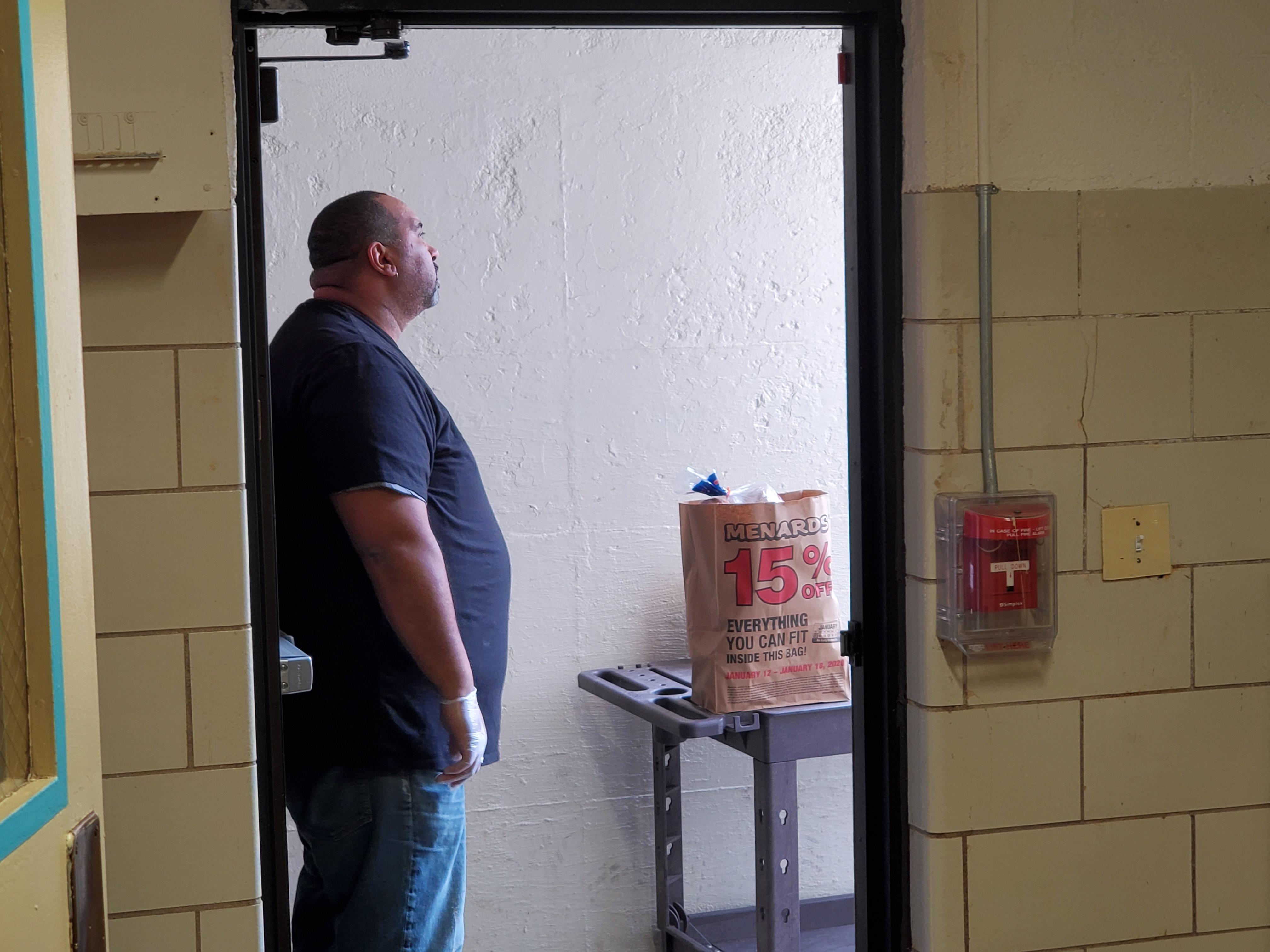 Micheal In doorway